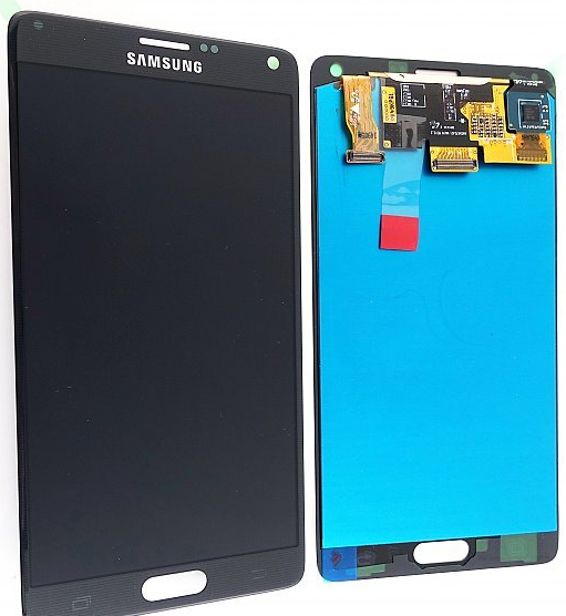 samsung galaxy note 4 display lcd glas reparatur phone. Black Bedroom Furniture Sets. Home Design Ideas